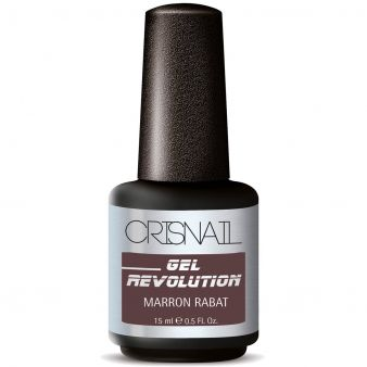 Crisnail Gel Revolution Gel Polish, Marron Rabat Gel Nail Polish-15ml