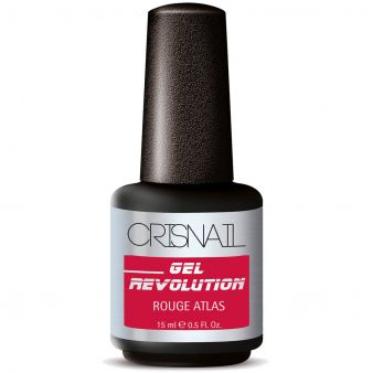 Crisnail Gel Revolution Gel Polish, Rouge Atlas Gel Nail Polish-15ml