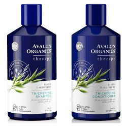 Avalon Organics Shampoo and Conditioner