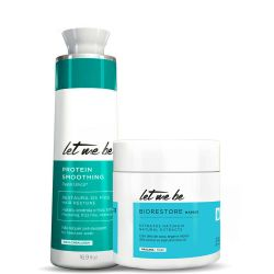 Let Me Be Protein Smoothing Treatment and Biorestore mask