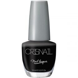Crisnail Glossy Black Nail Polish, 14ml